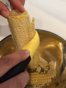 preparing corn